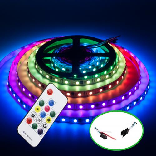 Zestaw Taśmy Cyfrowej Magic RGB ze sterowaniem radiowym 20M
