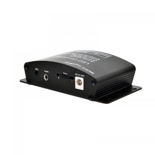 STEROWNIK MUZYCZNY taśm led RGBW Kontroler audio SOUND-X