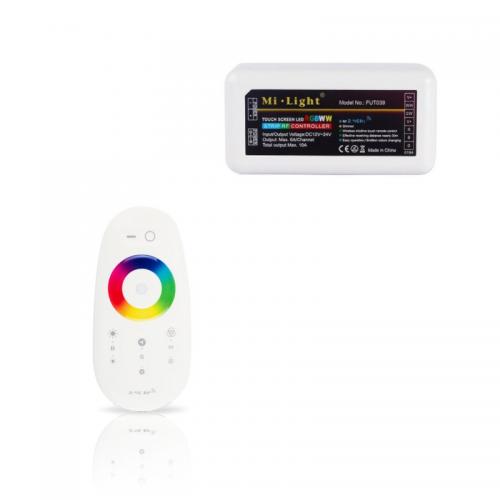 STEROWNIK LED RGBW LEDOVO 288W + DOTYKOWY PILOT RGBW LEDOVO