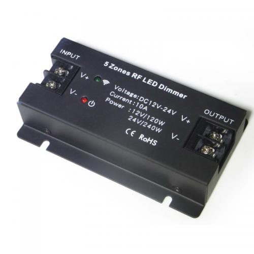 ŚCIEMNIACZ LED KONTROLER STEROWNIK SMART5 MAX 5 STREF 120W