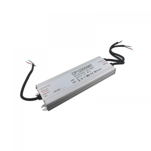 Zasilacz MONTAŻOWY CP Power LED 12V / 200W / 16.7A / wodoodporny / super płaski - IP67