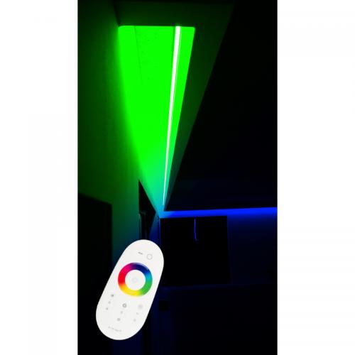 SUFIT LED RGBW +ZIMNOBIAŁY Z PILOTEM DOTYKOWYM / 15metrów