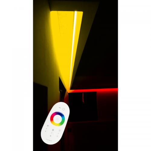 SUFIT LED RGBW +CIEPŁOBIAŁY Z PILOTEM DOTYKOWYM / 5metrów