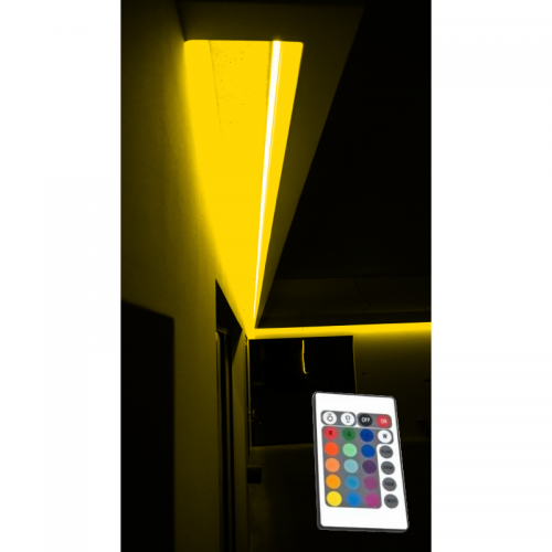 SUFIT LED RGB Z PILOTEM PODCZERWIENI / 11metrów / Epistar