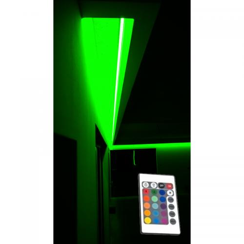 SUFIT LED RGB Z PILOTEM PODCZERWIENI / 7metrów / Epistar