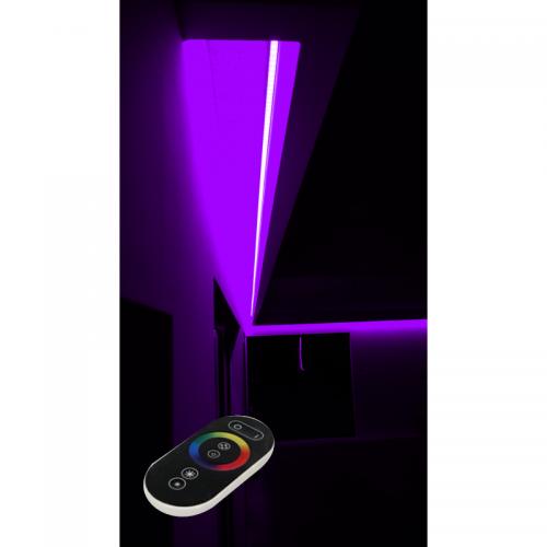 SUFIT LED RGB Z PILOTEM DOTYKOWYM RADIO / 35metrów / Epistar
