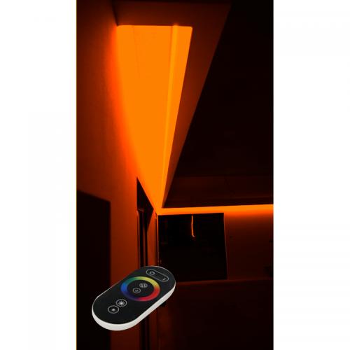 SUFIT LED RGB Z PILOTEM DOTYKOWYM RADIO / 30metrów / Epistar