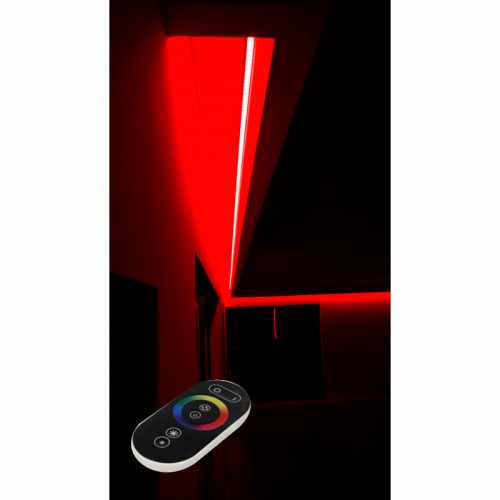 SUFIT LED RGB Z PILOTEM DOTYKOWYM RADIO / 15metrów / Epistar
