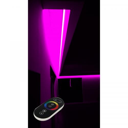 SUFIT LED RGB Z PILOTEM DOTYKOWYM RADIO / 5metrów / Epistar
