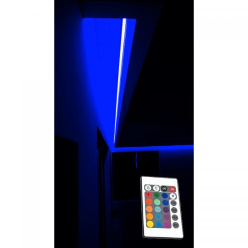 OŚWIETLENIE LED RGB SUFITU Z PILOTEM IR / 5 mb /EPISTAR IP65