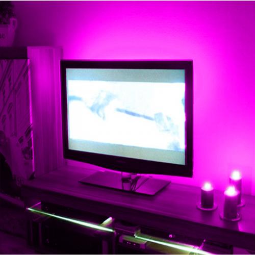 PODŚWIETLENIE LED TELEWIZORA OŚWIETLENIE LED TV / FIOLETOWY