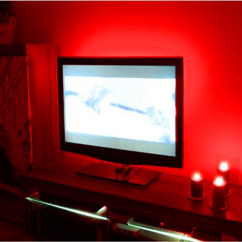 PODŚWIETLENIE LED TELEWIZORA OŚWIETLENIE LED TV / CZERWONY
