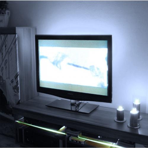 PODŚWIETLENIE LED TELEWIZORA OŚWIETLENIE TV / BIAŁY ZIMNY