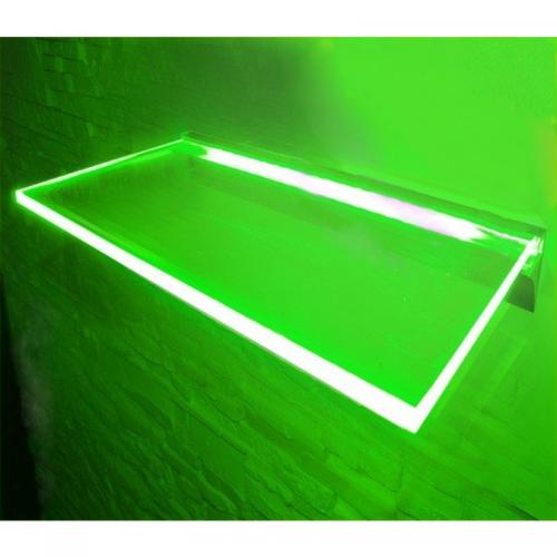 PÓLKA LED Ledovo + ZASILACZ/ 40x20cm/ ZIELONY