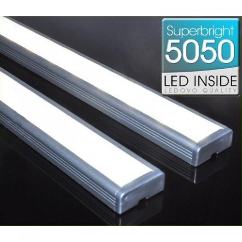 LISTWA LED Semi 5050 / 880 LUMENÓW / biała neutralna / 100cm