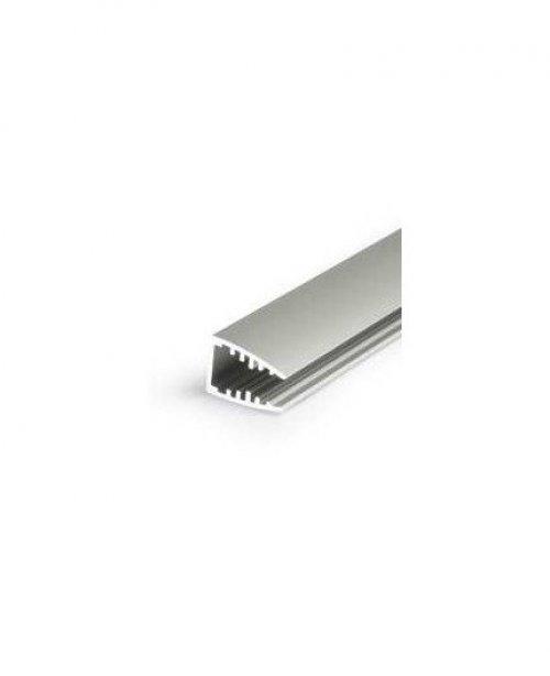 PROFIL LED SX6 NA SZYBĘ LUB PLEKSI / aluminium / 1m
