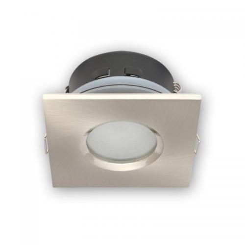OPRAWA WODOODPORNA LED GU10 MR16/ kwadrat satyna-INOX