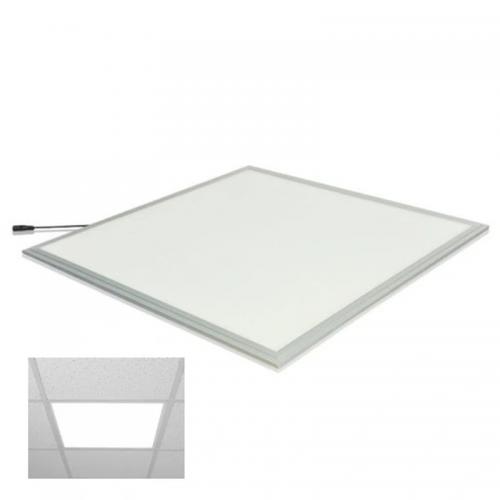 Panel Podtynkowy LED 48W 60cmx60cm Biały Neutralny + Uchwyty
