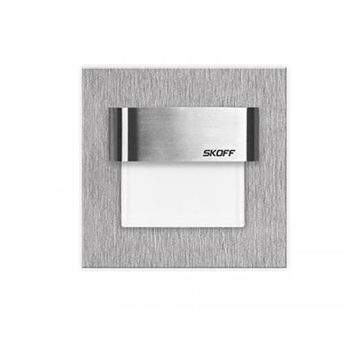 Oprawa Schodowa Szlif 0,8W 10V Aluminiowy Chrom-Błysk