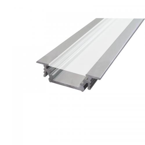 PROFIL LED SX3 aluminium anodowane / szybka mleczna / 1m