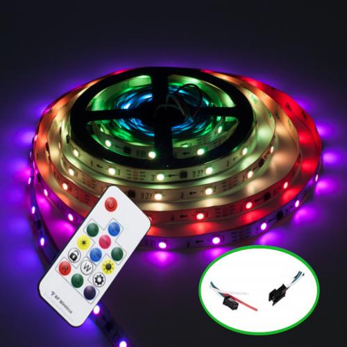 Zestaw Taśmy Cyfrowej Magic RGB 150LED ze sterowaniem radiowym 10M