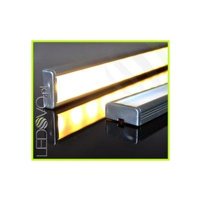 LISTWA LED PODSZAFKOWA Semi 100cm / diody 3528 / ciepłobiała