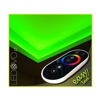 SUFIT LED RGB Z PILOTEM DOTYKOWYM RADIO / 20metrów / Epistar