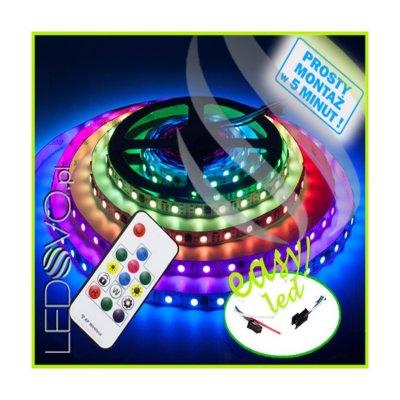 Zestaw Taśmy Cyfrowej Magic RGB ze sterowaniem radiowym 5M
