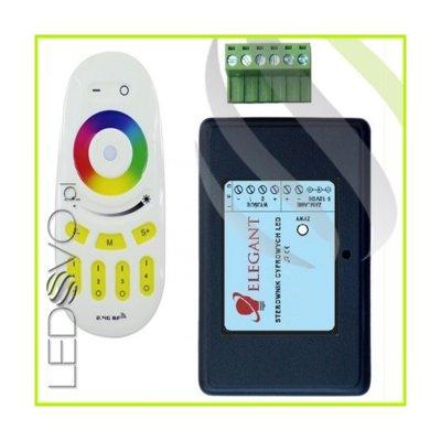 Inteligentny Sterownik Cyfrowy MAGIC RGB Radiowy Strefowy
