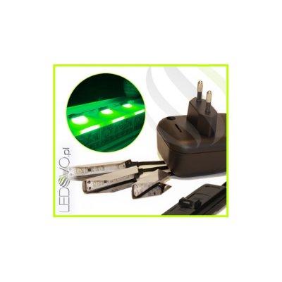KLIPSY LED Ledovo SemiLed / ZESTAW 3 KLIPSÓW / ZIELONY