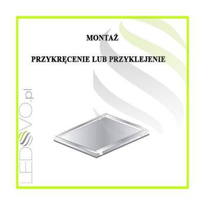 Panel Natynkowy LED 36W 60cmx60cm Biały Neutralny + Ramka
