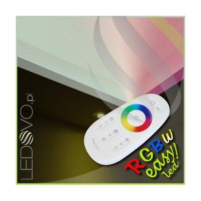 SUFIT LED RGBW +BIAŁY NEUTRALNY Z PILOTEM DOTYKOWYM /5metrów