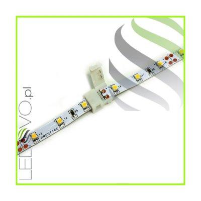 ZŁĄCZKA DWÓCH ODCINKÓW TAŚM MONOKOLOROWYCH LED -bez przewodu