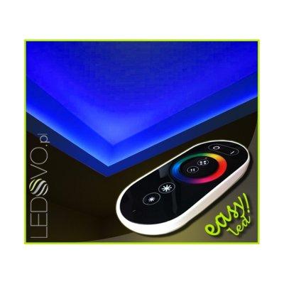 SUFIT LED RGB Z PILOTEM DOTYKOWYM RADIO / 10metrów / Epistar