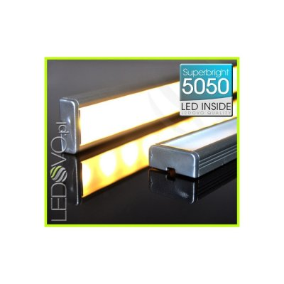 LISTWA LED Semi 5050 / 880 LUMENÓW / ciepłobiała / 100cm