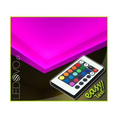 SUFIT LED RGB Z PILOTEM PODCZERWIENI / 15metrów / Epistar