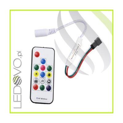 Sterownik LED do taśm Cyfrowych MAGIC RGB Radiowy MINI 2811