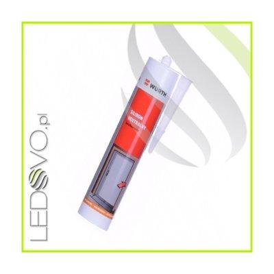 Uszczelniacz silikonowy DO PROFILI LED WURTH BEZBARWNY