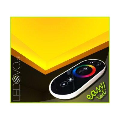 SUFIT LED RGB Z PILOTEM DOTYKOWYM RADIO / 40metrów / Epistar