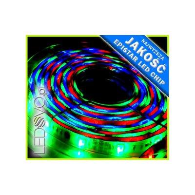 TAŚMA CYFROWA MAGIC LED RGB 5m +STEROWNIK+ZASILACZ MONTAŻOWY
