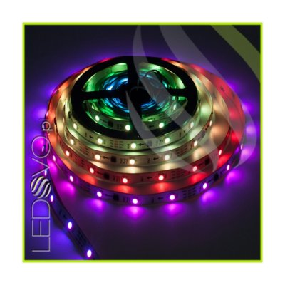 TAŚMA CYFROWA MAGIC STRIP Epistar LED RGB 150LED IP20 1Metr