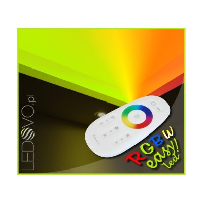 SUFIT LED RGBW +CIEPŁOBIAŁY Z PILOTEM DOTYKOWYM / 10metrów