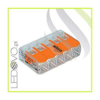 WAGO MINI Złączka uniwersalna do przewodów 5x0,2mm do 4mm