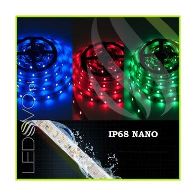 WODOSZCZELNA TAŚMA LED RGB Epistar 5050 150LED 5mb IP68 NANO
