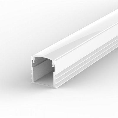 Profil LED Nawierzchniowy TLD5-1 biały lakierowany z kloszem mlecznym 2m