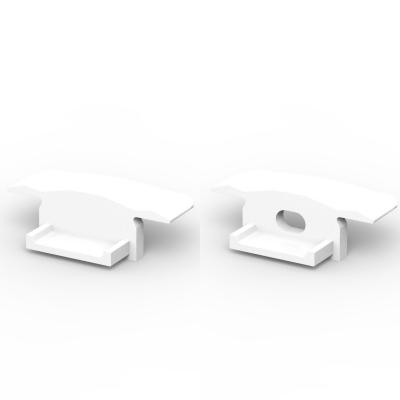 Zaślepki boczne do profili P6-2 białe (2 sztuki)