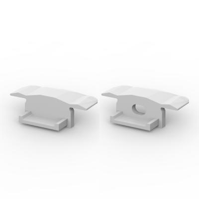 Zaślepki boczne do profili P6-2 srebrne (2 sztuki)