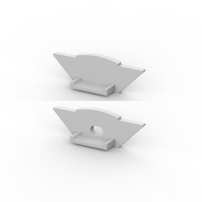 Zaślepki boczne do profili TLD7-1 AN (2 sztuki)