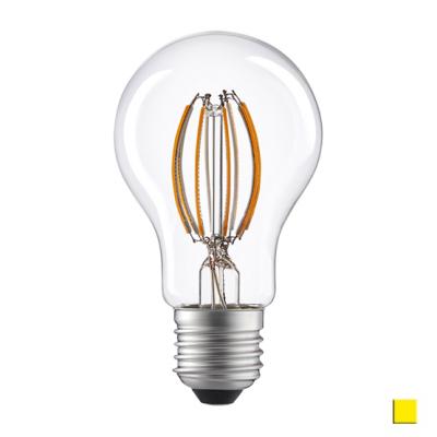 Żarówka LED LEDLINE E27 duży gwint A60D 8W biała ciepła filament ściemnialna