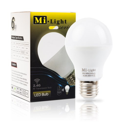 Inteligentna Żarówka Mi-Light E27 6W CCT